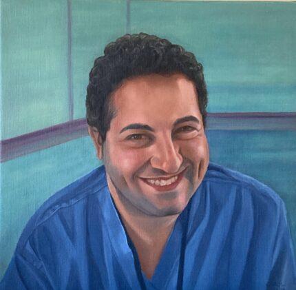Portrait for NHS Heroes - Dr Ben Mullish