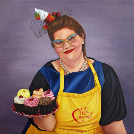 Portrait Of Mellissa Morgan Aka Ms  Cupcake