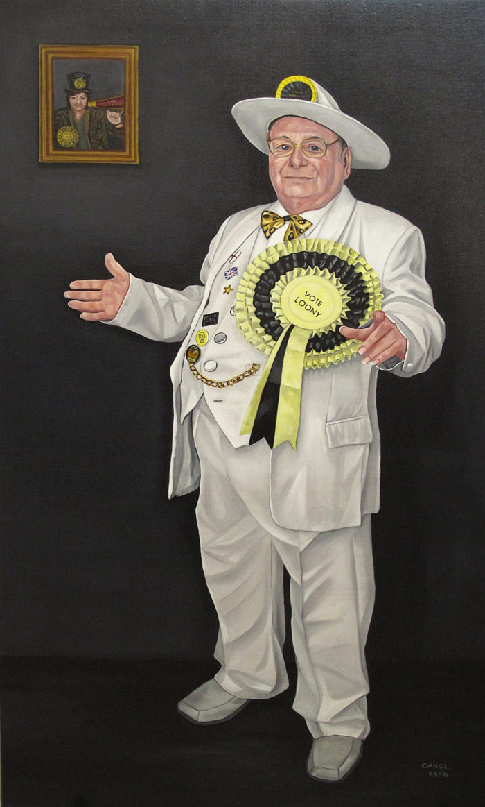 Alan Hope Leader Of The Monster Raving Loony Party