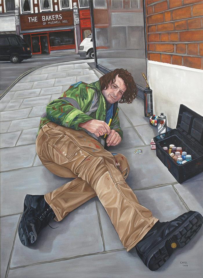 Ben Wilson The Chewing Gum Artist