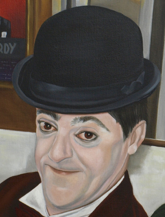 Detail Of Neil Bromley As Stan Laurel