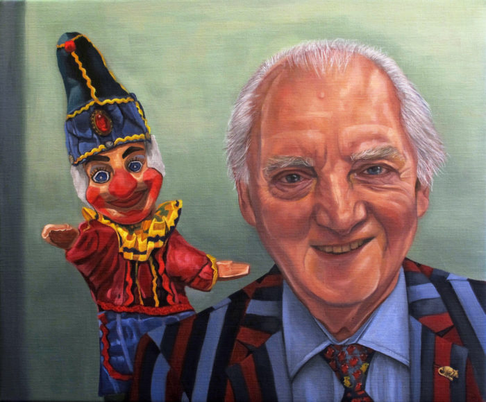 Hes Behind You Professor John Styles Mbe 1