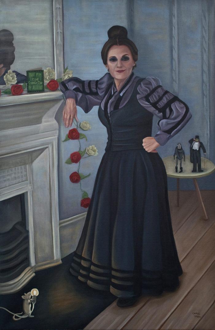 Lesley Joseph As Frau Blucher In Young Frankenstein 2