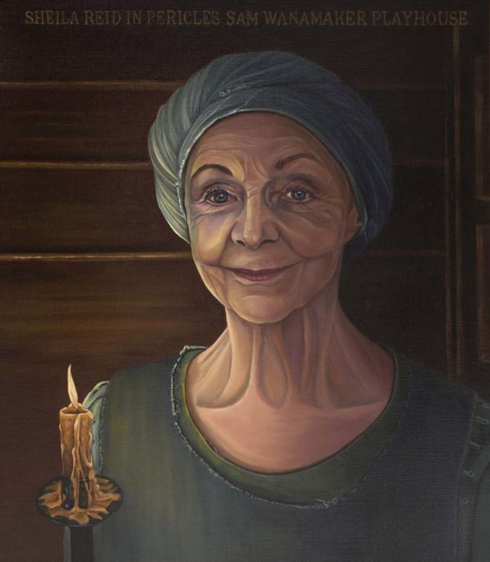 Carol Tarn Portraits Sheila Reid As Gower In Pericles