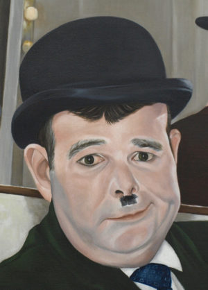 Detail Of Simon Lloyd As Oliver Hardy