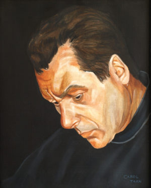 John Guerrasio Head Study Lorenz Hart From The Hart New End Theatre London 2007