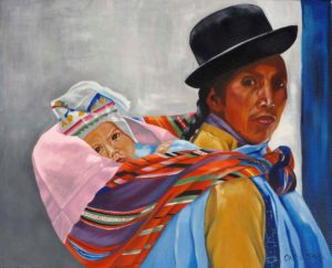 Mother And Child Bolivia